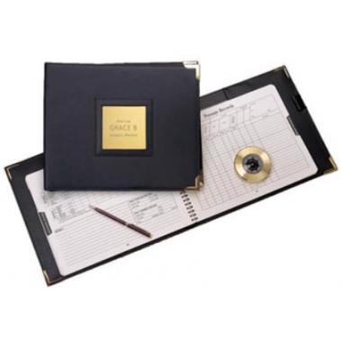 WEEMS & PLATH - Weems Brass Stormglass & Plaque Set